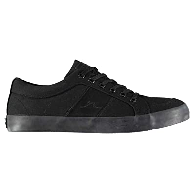 706a201655 Kangol Rally Canvas Shoes Mens Footwear Trainers Sneakers Black (UK7) (EU41)