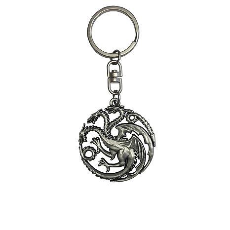Game of Thrones A832830 - Llavero con Escudo de Targaryen, Multicolor