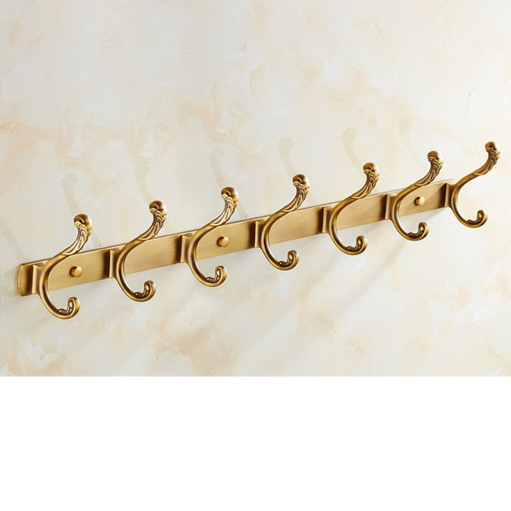 50%OFF European-style hooks/Antique coat hooks/ door coat hooks/Linked to the bathroom wall/ wardrobe gig-E