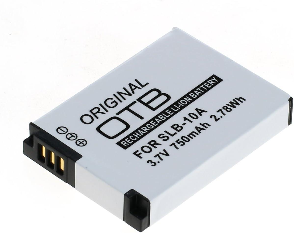 Original OTB batería BATTERY slb-10a para Samsung wb250f wb350f wb380f wb500 wb550
