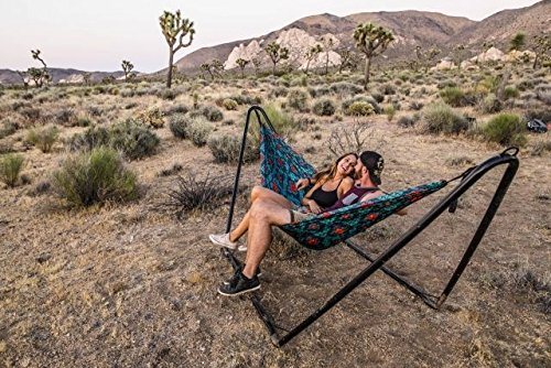 Grand Trunk Hangout Hammock Stand - Black by Grand Trunk (Image #1)
