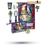 Cerdá Avengers Neceser de Viaje, 23 cm, Azul