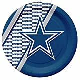 NFL Dallas Cowboys Disposable Paper Plate (20-Pack) by Duck House