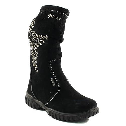 PrimigiAvril-e - Botas media altura con forro Niñas , negro (negro), 37: Amazon.es: Zapatos y complementos