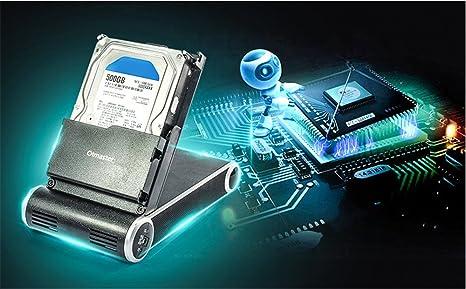 olmaster Disco Duro Base – Caja de disco duro con ventilador de ...