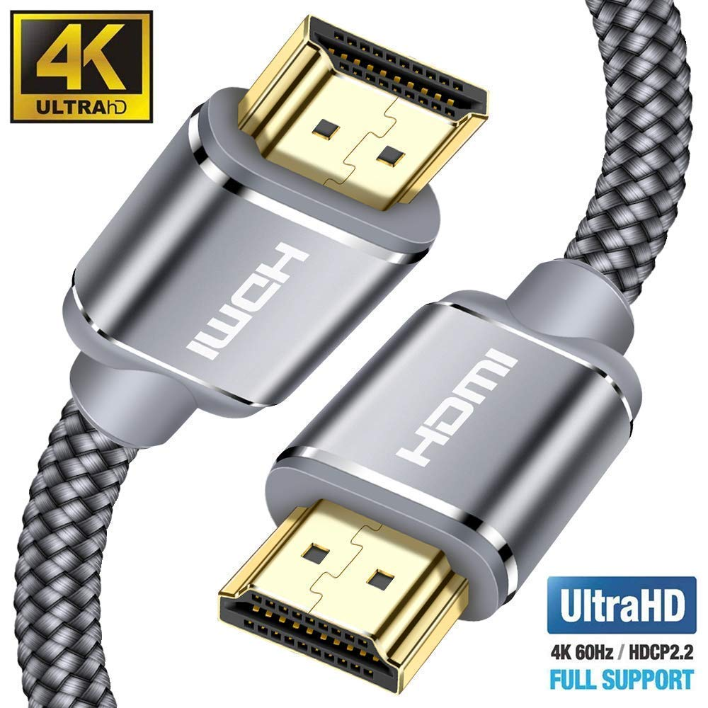 Playstation PS3,PS4 Ethernet,3D,2160P 1080P,BLU-Ray,Xbox 360 TV HDTV,Arco,HDCP 2.2,HDR Cable HDMI 10 Metros Cable HDMI de Alta Velocidad soporta Ultra HD