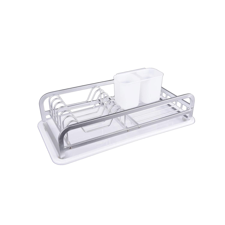 KOOK TIME- Escurreplatos Compacto de Cocina - Aluminio Anodizado ...