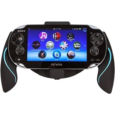 Link-e - Joystick ergonómico negro / azul para consola PS Vita 1000