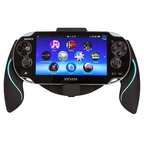 Link-e - Joystick ergonómico negro / azul para consola PS ...