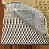 DoubleCheck Products Non Slip Area Rug Pad Size 5 X 8 Extra Strong Grip Thick Padding And