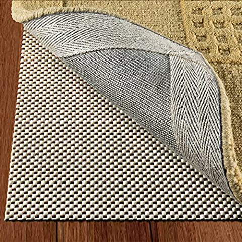 Non Slip Area Rug Pad Size 5 X 8 Extra Strong Grip Thick Padding And (Carpet 8x5)