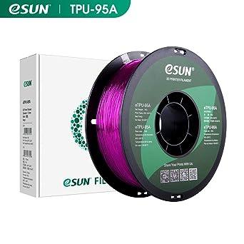 eSUN TPU Flexible Filamento de Impresora 3D, Filamento TPU 95A ...