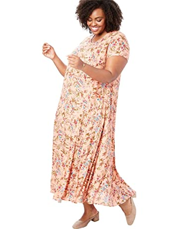 b8fdfdbad9e37 Woman Within Women s Plus Size Crinkle Dress