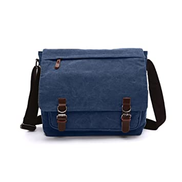 Laptop Shoulder Bag, Mens Messenger Bag Cross-body Casual Day Bag ...