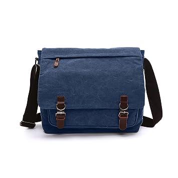 Laptop Shoulder Bag, Mens Messenger Bag Cross-body Casual Day Bag ...