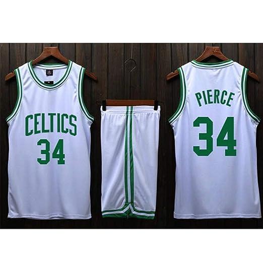 ATI-HSKJ Camisetas de Baloncesto de la NBA para Hombre Paul Pierce ...