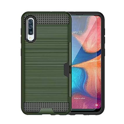 Amazon.com: Funda para Galaxy A20 con protector de pantalla ...
