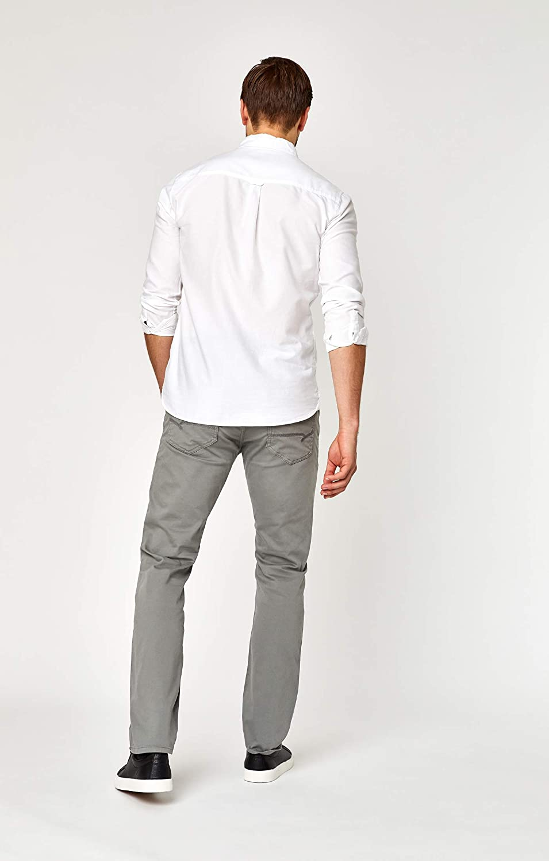 Mavi Mens Zach Regular Rise Straight Leg Pants