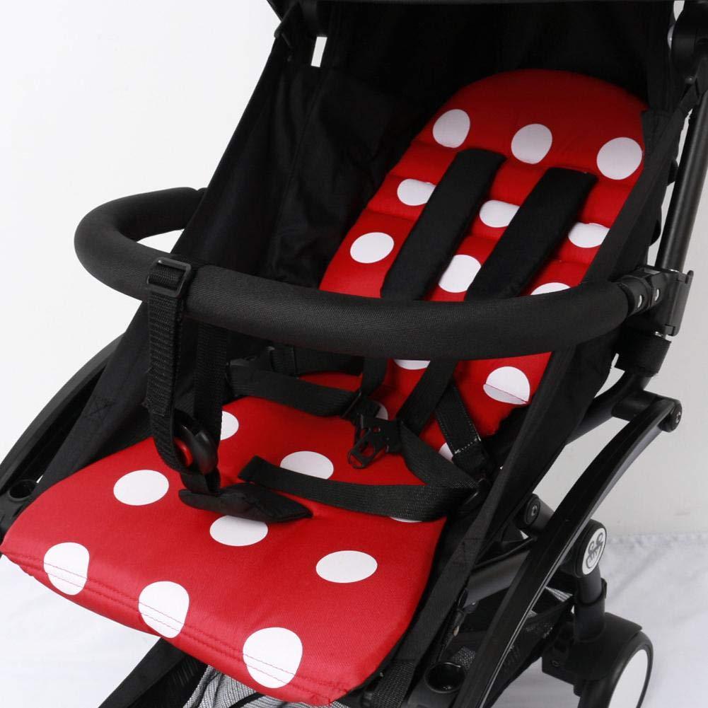 PER Baby Stroller Grip Handle Pram Armrest Bar Baby Pushchair Security Fence Extension Bumper Bar Stroller Accessories