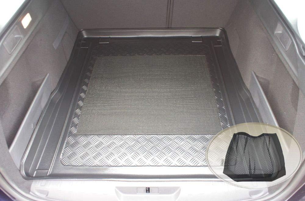 Laderaumwanne, Kofferraummatte Klett-Organizer ZentimeX Z3022696 Antirutsch Kofferraumwanne fahrzeugspezifisch