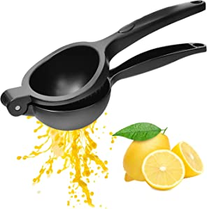 Manual Lemon Squeezer Professional Citrus Press Juicer Premium Quality Metal Kitchen Tool for Extracting the Most Juice Possible