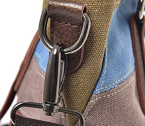 Brown Women's AalarDom Tote Shoulder TSDBH181183 Brown Fashion Canvas Bags Casual Bags Oqfzq6d