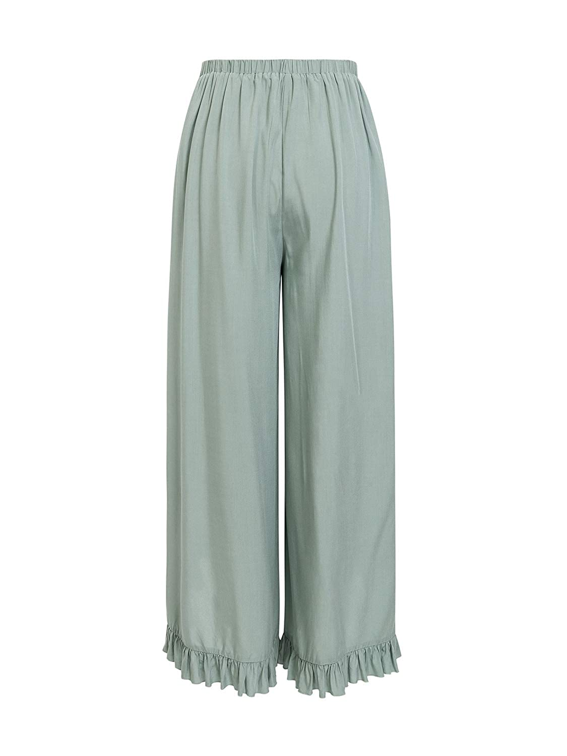 ef97cdf1e107 Simplee Women's Summer Casual Palazzo Pants Striped Loose Wide Leg Pants at  Amazon Women's Clothing store: