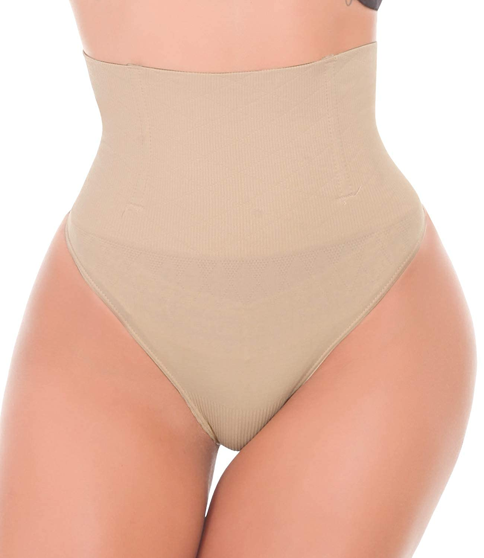 LANFEI Women Waist Cincher Tummy Control Thong Shapewear Panty LFNB238