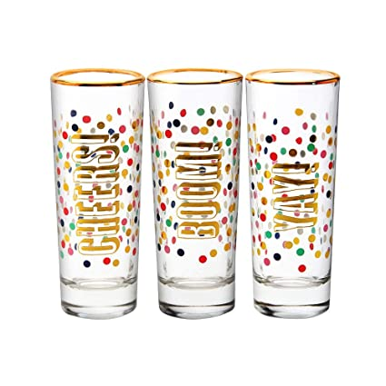 692cbba5051 Image Unavailable. Image not available for. Color  Slant Shot Glass Set ...