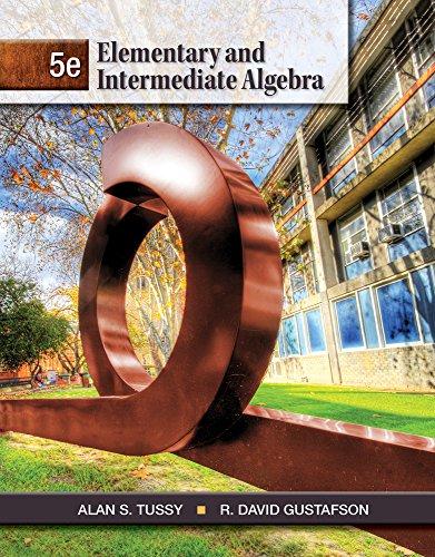 Cengage Advantage Books: Elementary and Intermediate Algebra, Loose-leaf Version
