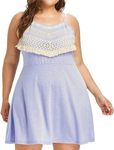 AIni Vestidos De Fiesta Mujer Cortos Vestido Casual De Verano Vestido De Honda Vestido Calado Vestido