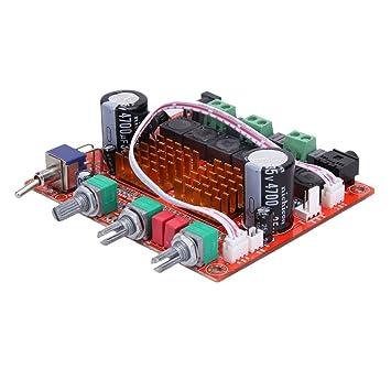 Gazechimp Junta AMP Board Amplificador 100W Hifi Subwoofer Digital Canal 2.1 12V 50w X 2