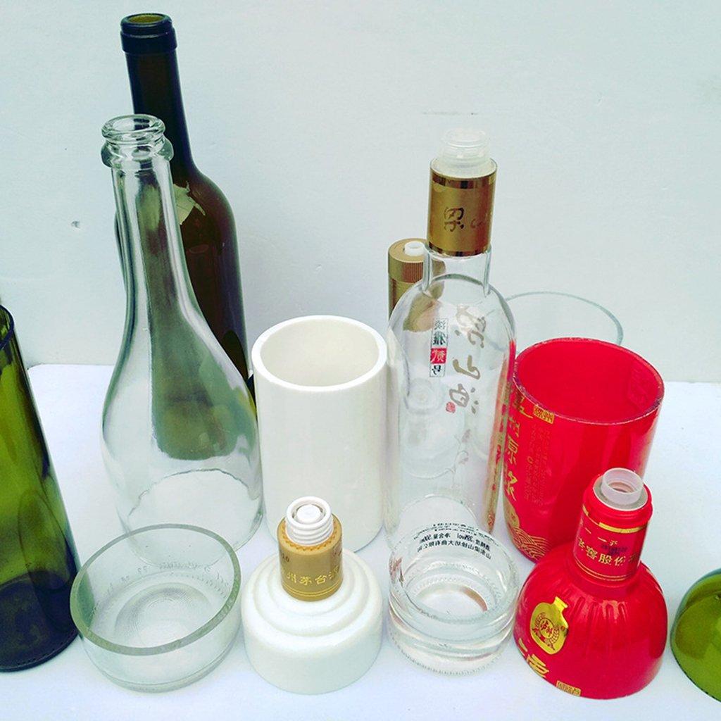 MagiDeal Cortador de Botella de Vidrio Herramienta de Acero para Decoración de Hogar Bricolaje: Amazon.es: Bricolaje y herramientas