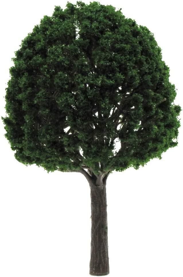 TG,LLC Treasure Gurus 1:12 Dollhouse Fairy Garden Tree 1:48 O Scale Train Display Mature Landscape Accessory