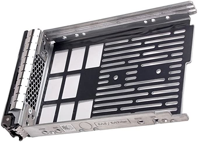 """3.5/"""" SAS SATA Hot-Swap Hard Drive Tray Caddy with Screws For Dell PowerEdge T710"""