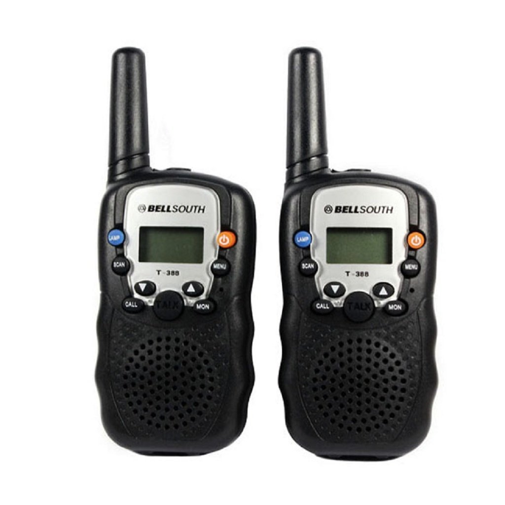Coper 1 Pair Of Portable Wireless Walkie-talkie Set Eight Channel 2 Way Radio Intercom 5KM Travel