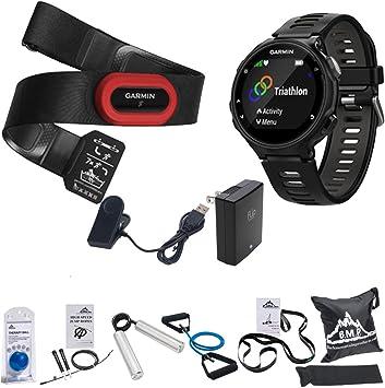 Garmin Forerunner 735 x T GPS Reloj de Running Run-Bundle – Negro/Gris (010 – 01614 – 12) con Juego de Fitness Kit: Amazon.es: Electrónica