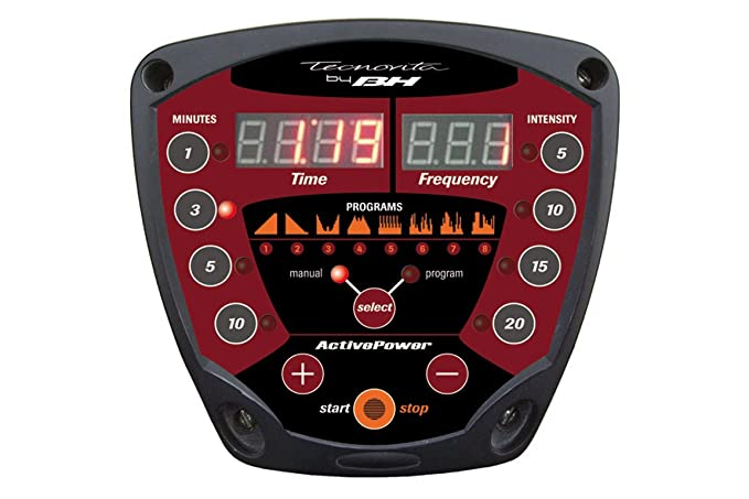 BH Fitness Plataforma Vibratoria Active Power YV16 Vibracion ...