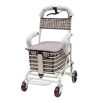 Y-L Ancianos Discapacitados Carro de Compras Antiguo, Carro ...