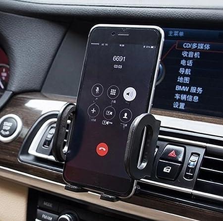 DaoRier KFZ Handyhalterung Auto Handy Halter L/üftung 360 Grad Halterung Car Phone Mount L/üftungsschlitz Universal Handy Halter f/ür iPhone 5 5s se 6 6s Plus Samsung Galaxy S6 S7