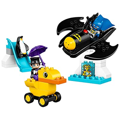 LEGO DUPLO DC Comics Super Heroes Batman Batwing Adventure 10823, Preschool, Pre-Kindergarten, Large Building Block Toys for Toddlers: Toys & Games