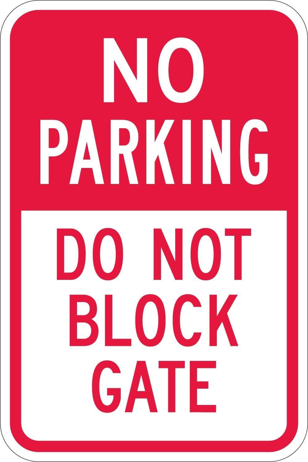 No Parking - Do Not Block Gate, 18