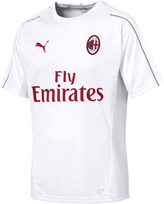 PUMA Mens Standard Ac Milan Home Shirt Promo No Sponsor