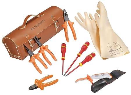 Facom-2180B.Vse Set of 9 Insulated Tools for Vse 1000 Vs Series ... a0e1e52a61903