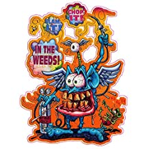 "Rat Fink in the Weeds Decal 5"" x 4"""