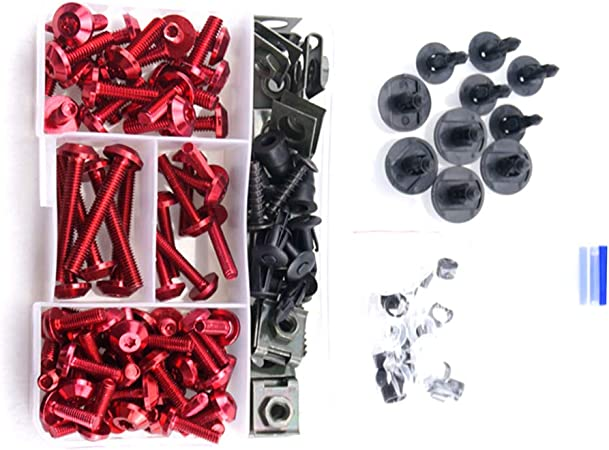 CNC Complete Fairing Bolt Kit Body Screws for Kawasaki Versys 650 2013-2018