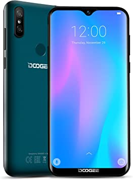 DOOGEE Y8 2019 (3 GB RAM 32 GB ROM) 4G Moviles Libres, Android 9.0 ...
