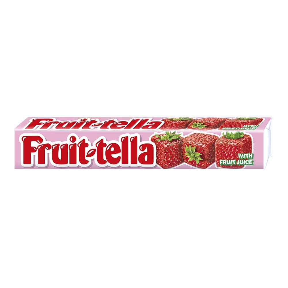 Fruittella Strawberry Stick 41g - Pack of 20