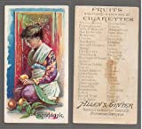 1891 Allen & Ginter N12 Fruits (Non-Sports) card#44 shaddock of the Grade Good
