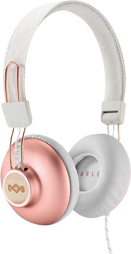 casque audio sans fil bois cuivre